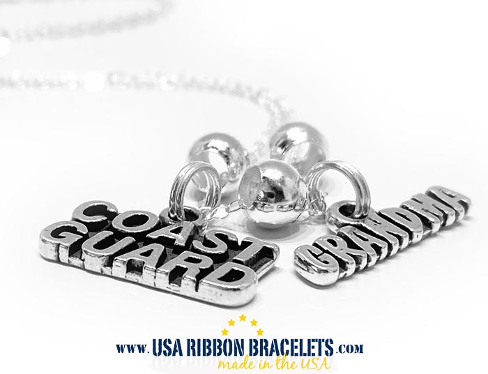 I Heart the National Guard Necklace for your a wife, girlfriend, mom or nanna...