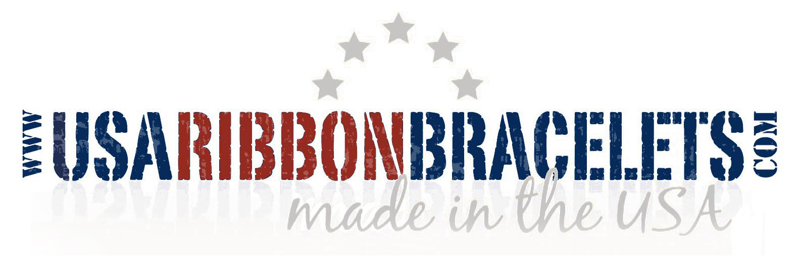 USA Ribbon Bracelets with Stars Logo (trademark)