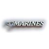 United States Marines Charm - Sterling Silver Marine Charm