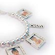 Military Picture Frame Charm Bracelet