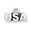 United States of America Heart Charm - USA Heart Charm