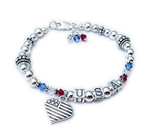 USA Jewelry for Military Wives, Jewelry for Military Moms